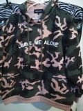 Pink Camo Pullover