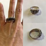 Heart Mystic Fire Topaz Sterling Silver Ring