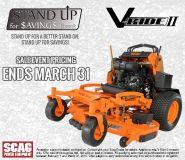 2018 SCAG V-Ride II Commercial Mowers Lawn Mowers Roca, NE
