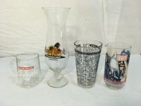vintage bar / burger king drinking cups star wars, hiram walker, hard rock cafe 01705