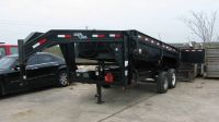 2009 Load Trail Gooseneck Dump Trailer