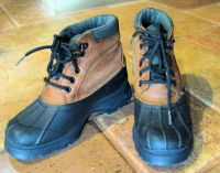 Woman or Young Adult Canyon River Blues Waterproof Duck Boots, men size 6.5, woman 8.5