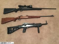 For Sale: 3 rifles for sale