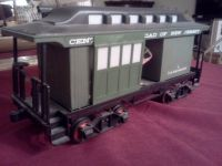 Jim Beam Whiskey Decanter ( Central RailRoad of New Jersey Rail Car )