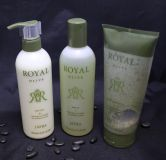 Jafra Royal Olive Lotion, oil and body scrub