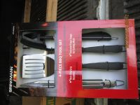 BRINKMANN 4 PIECE BBQ SET