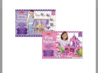 NWT Melissa and Doug 3D dollhouse and palace puzzles!