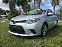 2014 Toyota Corolla LE Eco Premium 4dr Sedan