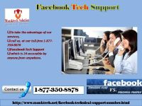 Establishing a new trend of services via 1-877-350-8878 Facebook tech support