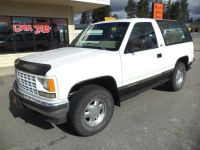 1993 Chevrolet Blazer K1500 4WD 2 door Blazer