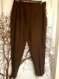 Bianca brand new with tags brown dress pants elastic waist women's plus size 20