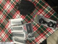 For Sale: 9mm 1911 Mags, 1911 Holster, Burris XTR rings