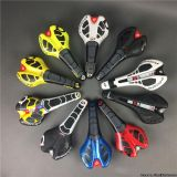 New leather prologo CPC road bike saddle black/white/red/yellow/blue
