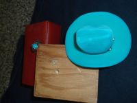 TURQUOISE RING AND BOX