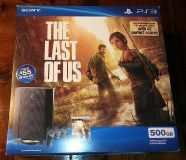 500 GB Playstation 3 PS3 with 9 games 5 are 3D + 4 controllers 2 wireless 2 wired *REDUCED*