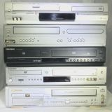 DVD & VHS combo for parts
