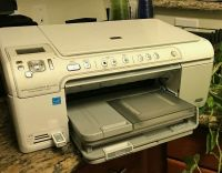 Hp photo smart printer c5550 all in one ( printer-scanner-copier ) for sale