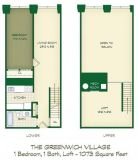 1 Bed - Lofts at the Mills