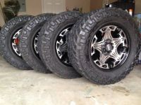 Mud tires and rims