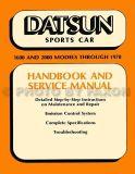 Buy Datsun 1600 and 2000 Shop Manual 1965 1966 1967 1968 1969 1970 Roadster Repair motorcycle in Riverside, California, United States, for US $49.00