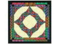 Ezy Quilt Kit/Through the Batik Door Log Cabin/Pre-cut