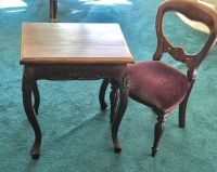 Victorian child s table and chair