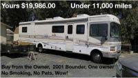 2001 Fleetwood Bounder 36K