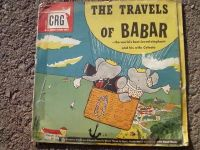 The Travels of Babar 78 rpm record set