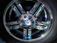 18 inch chrome rims with tires