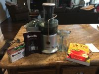 Breville Juicer, bags and The Juicing Bible