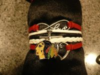 Blackhawks bracelet NEW