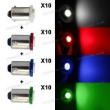 Sell 40x Red/White/Green/Blue BA9S 1815 1895 Instrument Dashboard Gauge Bulb Lamp LED motorcycle in Milpitas, California, United States