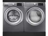 Samsung Front Load Washer & Electric Steam Dryer Set