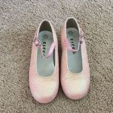 Circo pink sparkly dress shoes, size 10.5. Only wore a couple times.