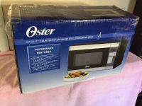 Oster stainless steel microwave brand new in box!