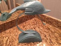 Decorative Hand Painted Wooden Dolphin