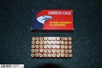 For Sale: **44 Remington Magnum Shells - 240 GR. Jacketed Hollow PT. American Eagle