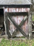 Antique barn/farm gates estimated to be 100-150 years old-Unique opportunity