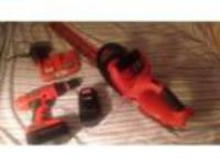 Drill. And. Hedge Trimmers. . Volt