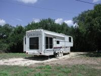1br, Nueces River frontage, 10 acres in Eagleford area, with RV trailer.