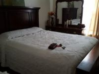 queen size bed and mattress dresser with mirror and nightstand