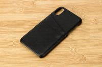 iPhone leather case with card slots