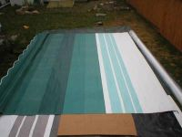 Purchase 19' RV TRAILER CAMPER REPLACEMENT FACTORY AWNING FABRIC SEA GREEN 8500 A & E NEW motorcycle in Stow, Ohio, US, for US $219.99