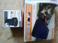 Air mattress with electric pump. New!!!