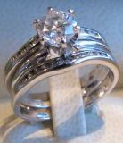 Diamond Engagement Ring with Wrap