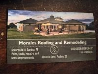 Roofing , repairs ,home improvements .remodeling!!!!