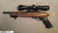 For Sale: Ruger Charger Pistol 10/22