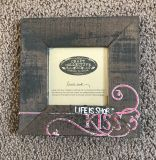 Rustic picture frame from Avon