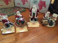The Legend of Santa Claus Figurines