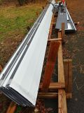 """Charcoal color Standing seam 16"""" panel Roofing 4'-42' lengths"""